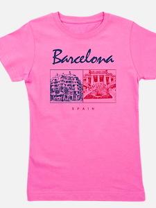 Barcelona_7x7_apparel_CasaMila_ParcGuel Girl's Tee