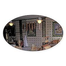 Old-fashioned butcher shopolland, E Decal