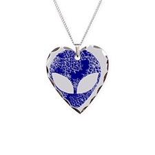 alien blue Necklace