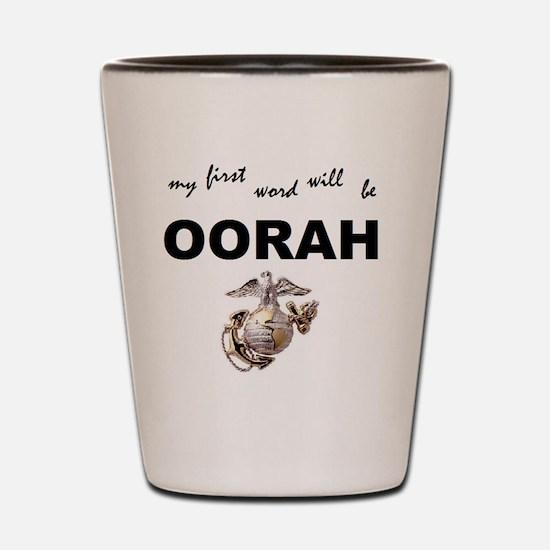 oorah Shot Glass