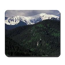 Zakopane Skip Chalets and Tatra Mountain Mousepad