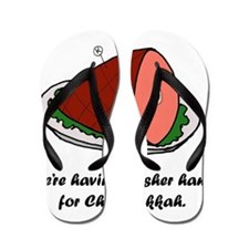 Kosher Ham Flip Flops