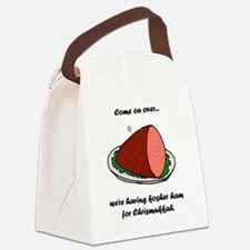 Kosher Ham Canvas Lunch Bag