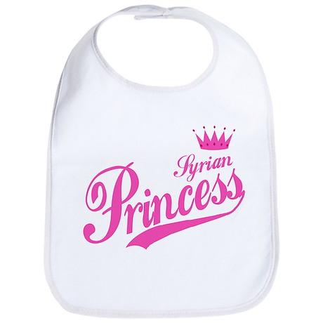 Syrian Princess Bib