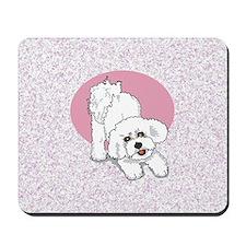 Bichon Play Bow Mousepad M32