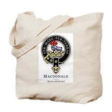 Clan MacDonald Tote Bag