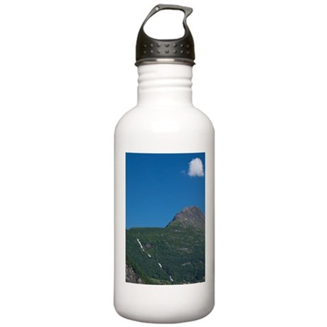 In port at Geiranger. Stainless Water Bottle 1.0L