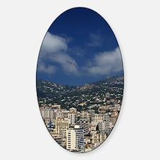 Monaco, Cote d'Azur, Montecarlo. Decal