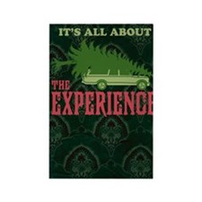 The Experience book Rectangle Magnet