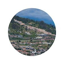 "Funchal. Historic yellow Saint Tiago F 3.5"" Button"