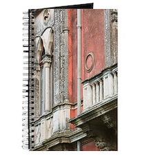 Detailof former home of poet Antonio Cardi Journal