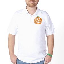 distressed pumpkin T-Shirt
