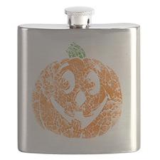 distressed pumpkin Flask