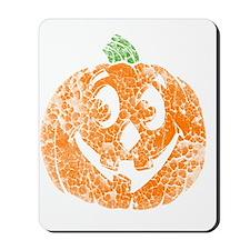 distressed pumpkin Mousepad