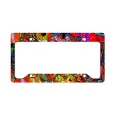 Open Mike non Stop Music copy License Plate Holder