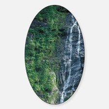Norway, Geiranger Fjord. Waterfall. Decal