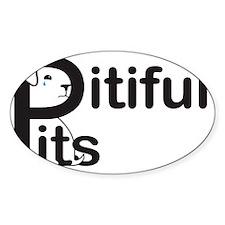 Pitiful Pits logo JPG Decal