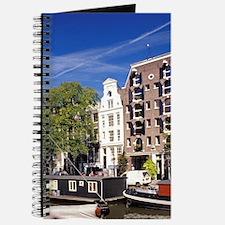 Europe, Holland, Amsterdam. Brouwersgracht Journal