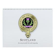 Flower of Scotland Wall Calendar