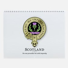 Flower of Scotland Wall Calendar