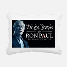 we the [people for Ron P Rectangular Canvas Pillow