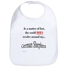 German Shepherd World Bib