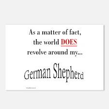 German Shepherd World Postcards (Package of 8)