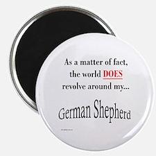 German Shepherd World Magnet