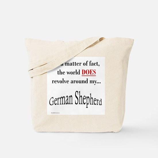 German Shepherd World Tote Bag
