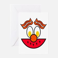 Funny Food Face Greeting Cards (Pk of 10)