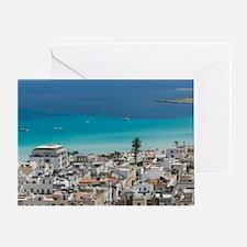 Italy, Sicily, San Vito Lo Capo, Res Greeting Card