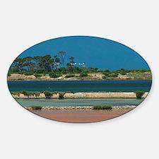 Mozia. Salt Pans near Mozia Island  Decal