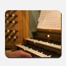 PIpe Organ in concert. Jondal Norway Mousepad