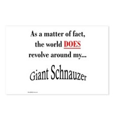 Schnauzer World Postcards (Package of 8)
