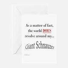 Schnauzer World Greeting Cards (Pk of 10)
