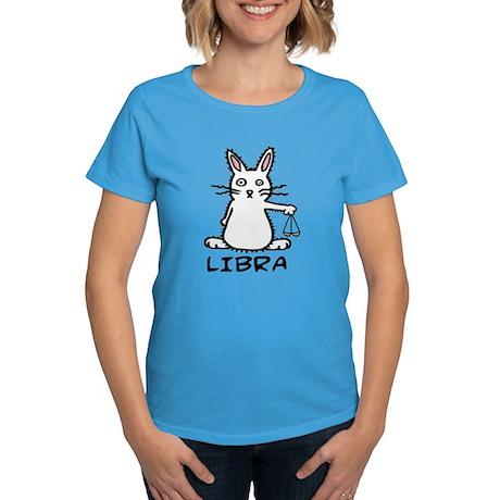 Libra Women's Caribbean Blue T-Shirt