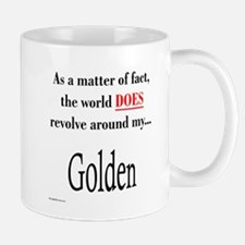 Golden World Mug
