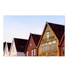 Historic Bryggen Postcards (Package of 8)