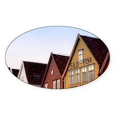 Historic Bryggen Decal