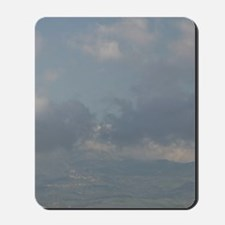 Morning View of Hill Town from ENNAMorni Mousepad