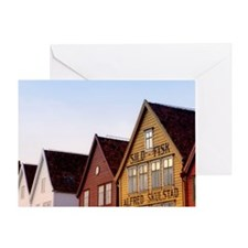 Historic Bryggen Greeting Card