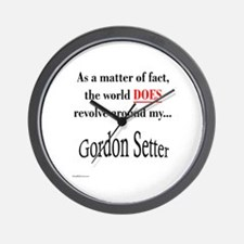 Gordon World Wall Clock