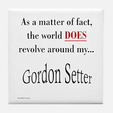 Gordon World Tile Coaster