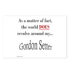 Gordon World Postcards (Package of 8)