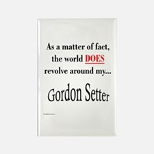 Gordon World Rectangle Magnet
