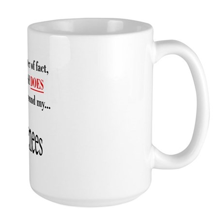 Pyrenees World Large Mug