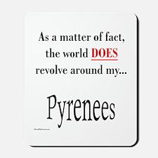 Pyrenees World Mousepad