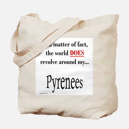 Pyrenees World Tote Bag