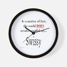 Swissy World Wall Clock