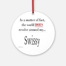 Swissy World Ornament (Round)
